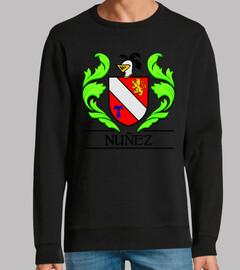 Escudo heráldico del apellido NUÑEZ