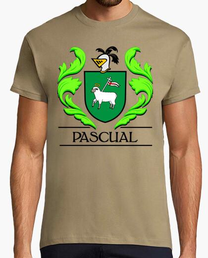 Camiseta Escudo heráldico del apellido PASCUAL