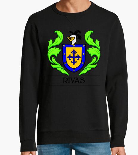 Jersey Escudo heráldico del apellido RIVAS