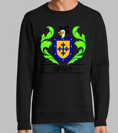 Escudo heráldico del apellido RIVAS