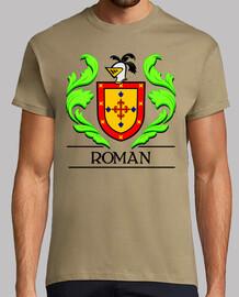 Escudo heráldico del apellido ROMAN