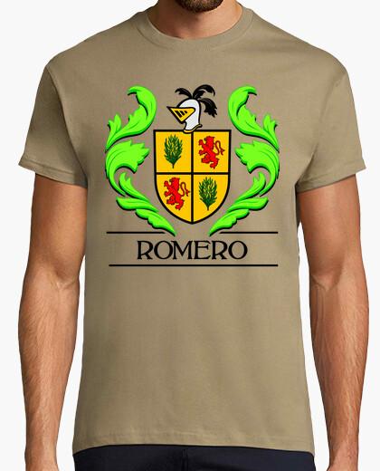 Camiseta Escudo heráldico del apellido ROMERO