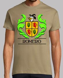 Escudo heráldico del apellido ROMERO