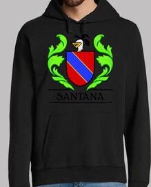Escudo heráldico del apellido SANTANA