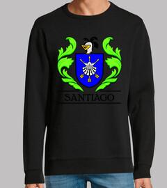 Escudo heráldico del apellido SANTIAGO