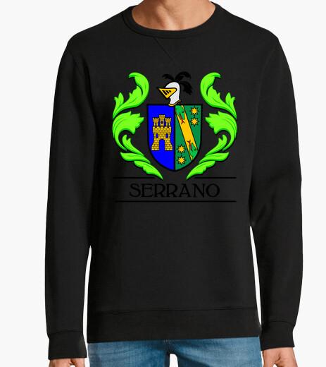 Jersey Escudo heráldico del apellido SERRANO