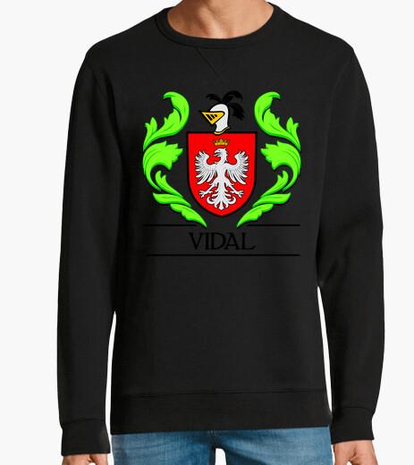 Jersey Escudo heráldico del apellido VIDAL