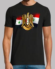 Escudo y bandera de Siria
