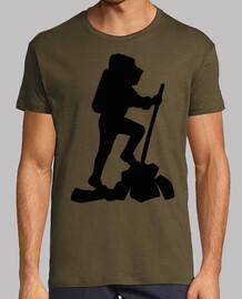 escursionista / escursionista / pellegr