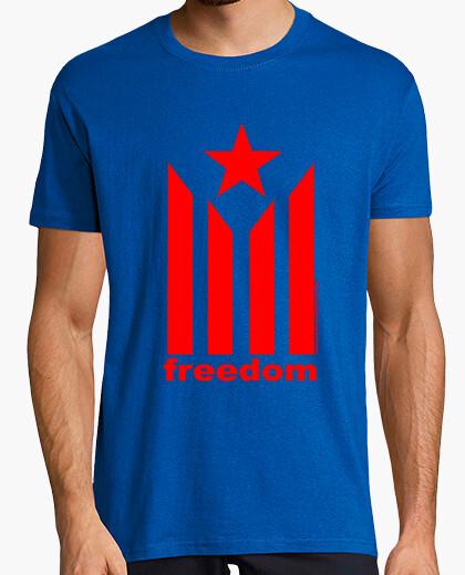 Camiseta Esetelada Freedom Hombre