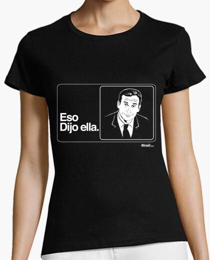 Camiseta Eso dijo ella (The Office)