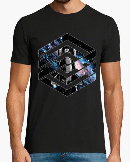 Tee-shirt espace géométrique