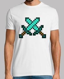 Espadas de diamante - Minecraft