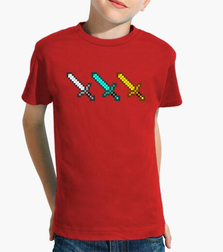 Ropa infantil Espadas niveles
