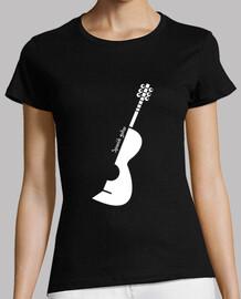 espagnol blanche de guitare