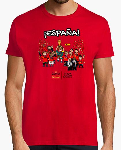Camiseta España - Campeona Mundial 2010