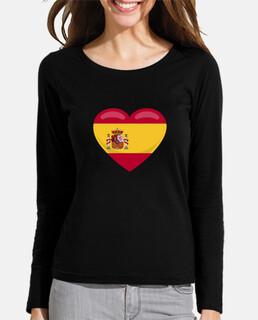 España amor corazón bandera española re