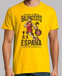 España Campeones del Mundo Baloncesto