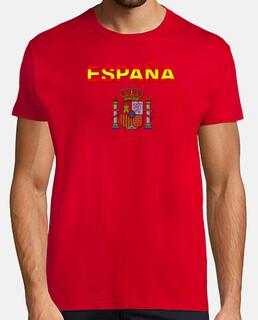 España letras y escudo