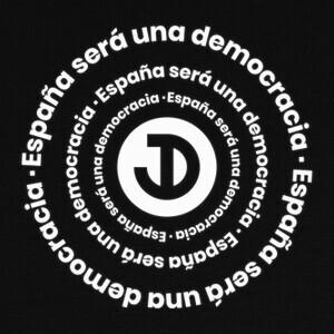 Camisetas España será una democracia