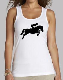 espectáculo de caballos de salto