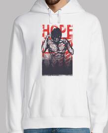 esperanza y destructor - ataque a titán