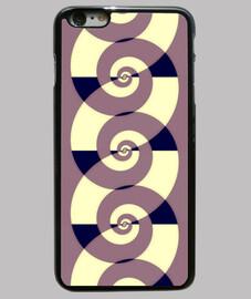 espirales - púrpura