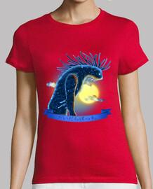 espíritu del bosque - camiseta de la mujer