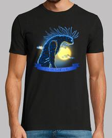 espíritu del bosque - versión completa noche - hombre camiseta