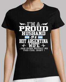 esposa orgullosa de argentina del marido orgulloso