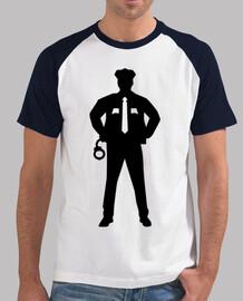 esposas del oficial de policía
