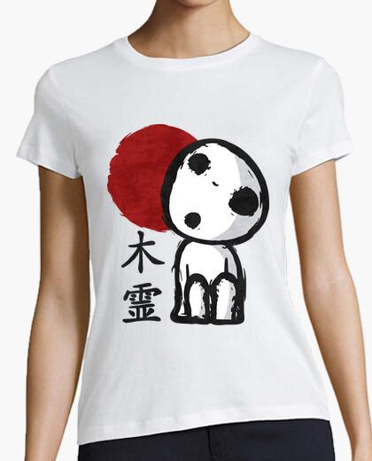 Tee-shirt esprit d'arbre (kodama)
