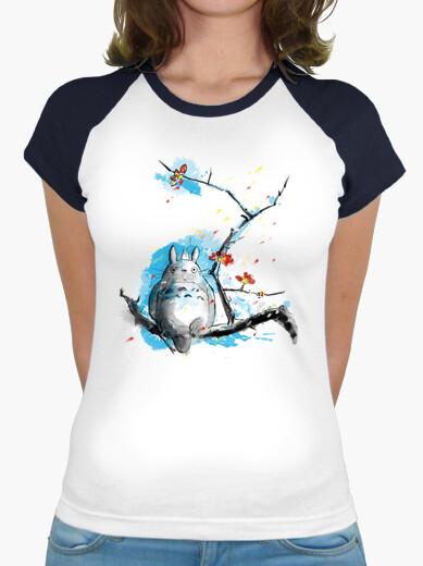 Tee-shirt esprit de la forêt a la hokusai