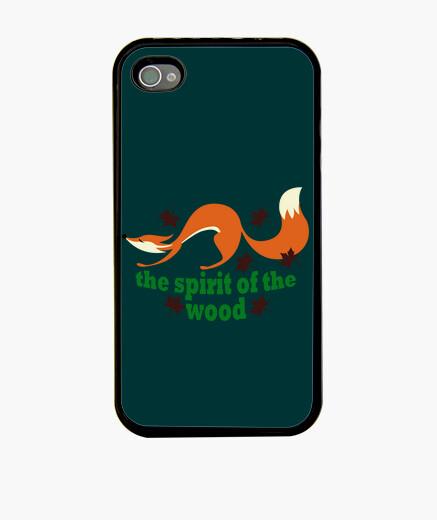 Coque iPhone esprit des bois