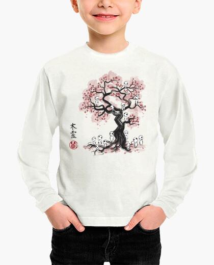 Vêtements enfant esprits de la forêt sumi-e