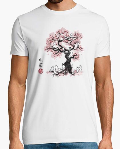 Tee-shirt Esprits de la forêt sumi-e