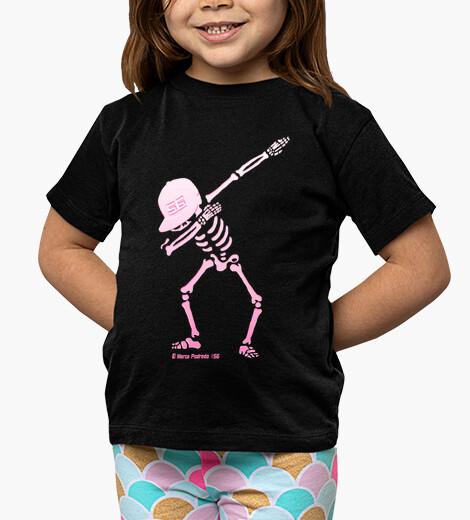 Ropa infantil Esqueleto Dab Rosa