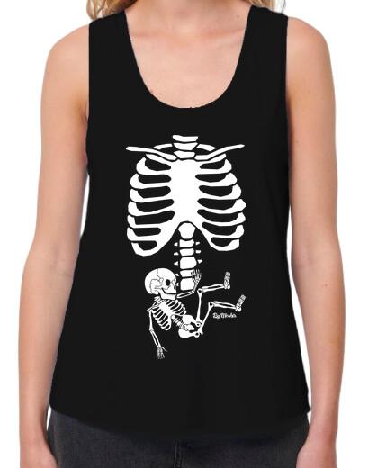 Esqueleto de embarazada