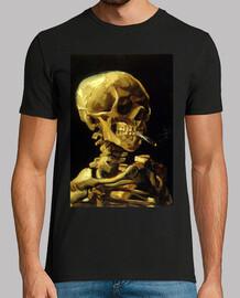 Esqueleto fumando, Van Gogh