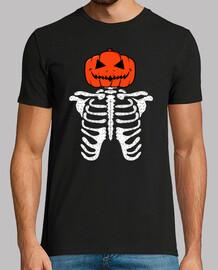 Esqueleto Hallowen Calabaza