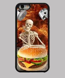 Esqueleto hambriento