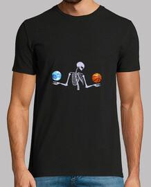 Esqueleto luna claro