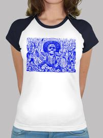 Esqueleto Oaxaqueño, azul