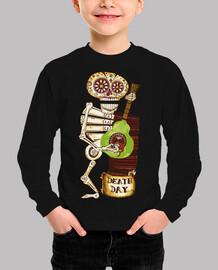 Esqueleto y Guitarra Calaca Catrina Kat