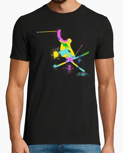 Camiseta esquí festivo