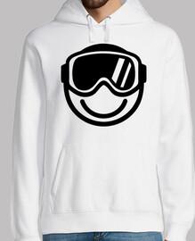 esquí snowboard smiley