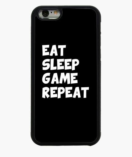 iPhone 6 und iPhone 6S Hülle essen Schlaf Spiel wiederholen