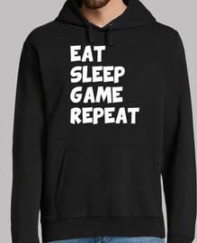 essen Schlaf Spiel wiederholen