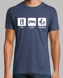 essen, schlafen, fußball