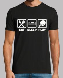 Essen Sie Schlaf Ping Pong